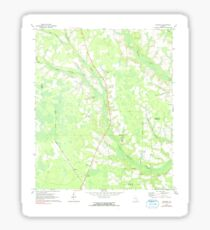 USGS TOPO Map Georgia GA Crawley 245440 1971 24000 Sticker