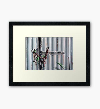 The Chain Gang Framed Print