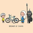 Breaker of chains by Andres Colmenares