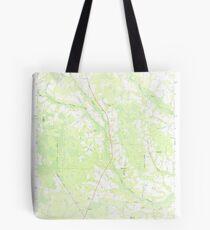 USGS TOPO Map Georgia GA Crawley 245441 1971 24000 Tote Bag