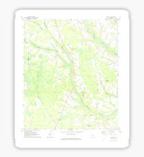 USGS TOPO Map Georgia GA Crawley 245441 1971 24000 Sticker