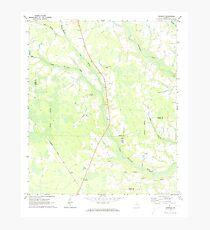 USGS TOPO Map Georgia GA Crawley 245441 1971 24000 Photographic Print
