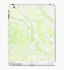 USGS TOPO Map Georgia GA Crawley 245441 1971 24000 iPad Case/Skin
