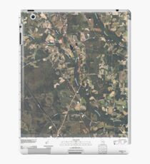 USGS TOPO Map Georgia GA Crawley 20110310 TM iPad Case/Skin