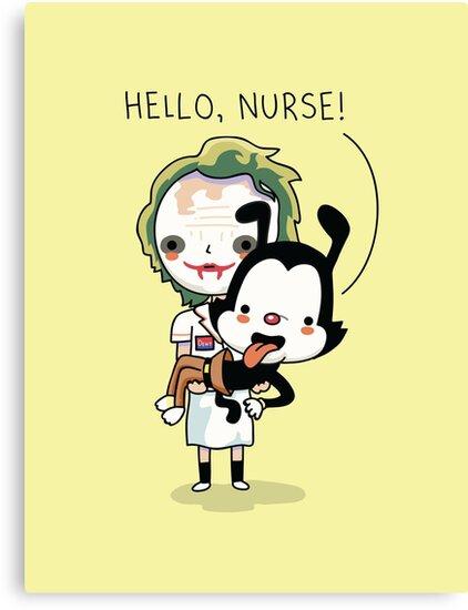 Hello nurse by Andres Colmenares