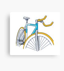 Fixie Bicycle Urban Culture Canvas Print