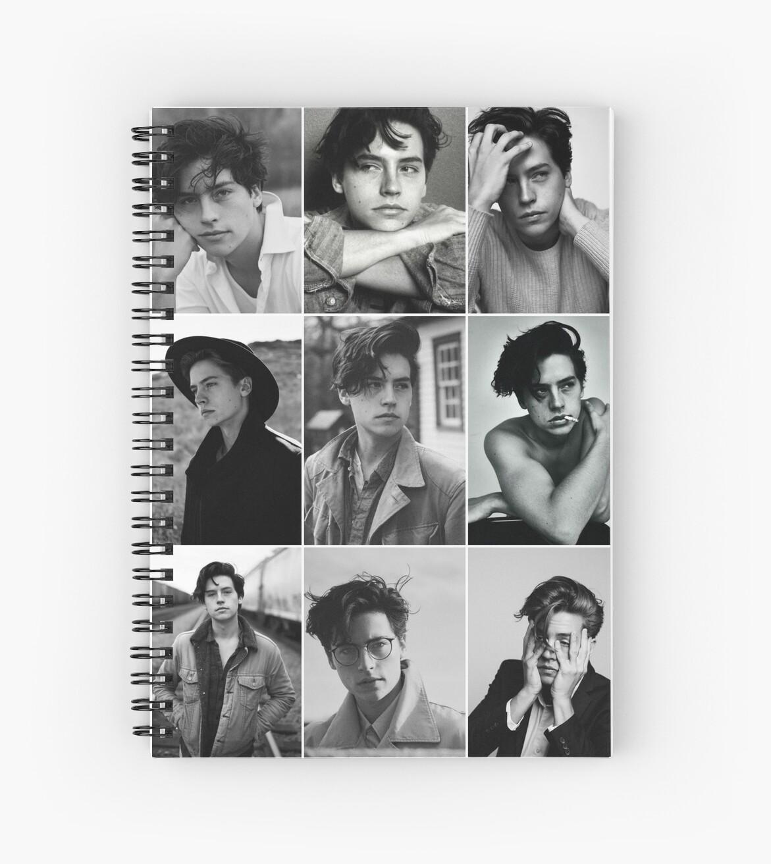 «cole sprouse collage estético blanco y negro» de alyciathefox