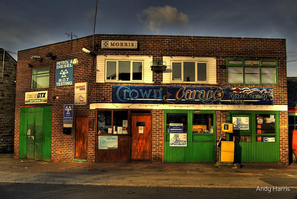 Crown Garage by Andy Harris