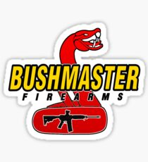 Bushmaster Firearms Logo  Sticker