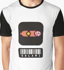 barcode Salame Graphic T-Shirt