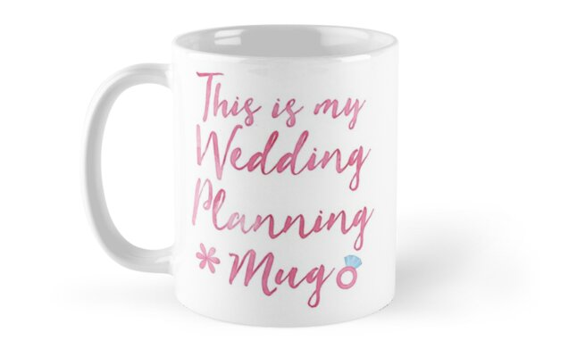 This is my wedding planning ... MUG SHIRT BOOK  by jazzydevil