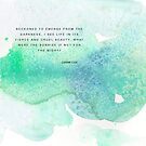 Lost for Words Calendar 2015 - August by Franchesca Cox