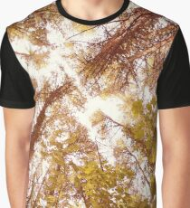 Vintage Summer Trees Graphic T-Shirt
