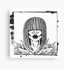 Miss Momo Canvas Print