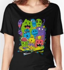 Test Tube Monsters Color Women's Relaxed Fit T-Shirt