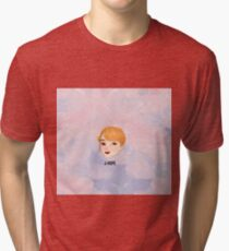 BTS -BS, T Chibi J-HOPE with bg Tri-blend T-Shirt