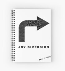 Joy Diversion - Post Punk Fun Spiral Notebook