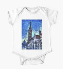 The Church Vincent Van Gogh One Piece - Short Sleeve