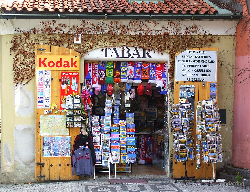 Shop in Prague by dipdatdog
