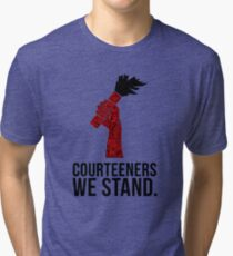 Courteeners We Stand. Flare design Tri-blend T-Shirt