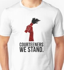 Courteeners We Stand. Flare design Unisex T-Shirt