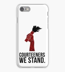 Courteeners We Stand. Flare design iPhone Case/Skin