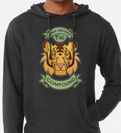 Walk Around The Compound Lightweight Hoodie