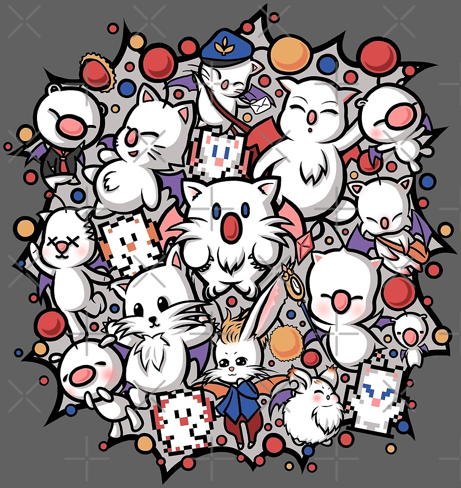 Final Fantasy Moogle-verse II by seviesphere