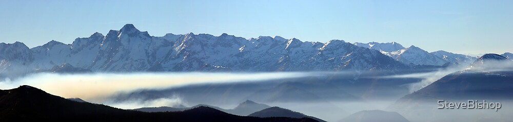 Mt Valier Panorama, Pyrenees by Steve Bishop