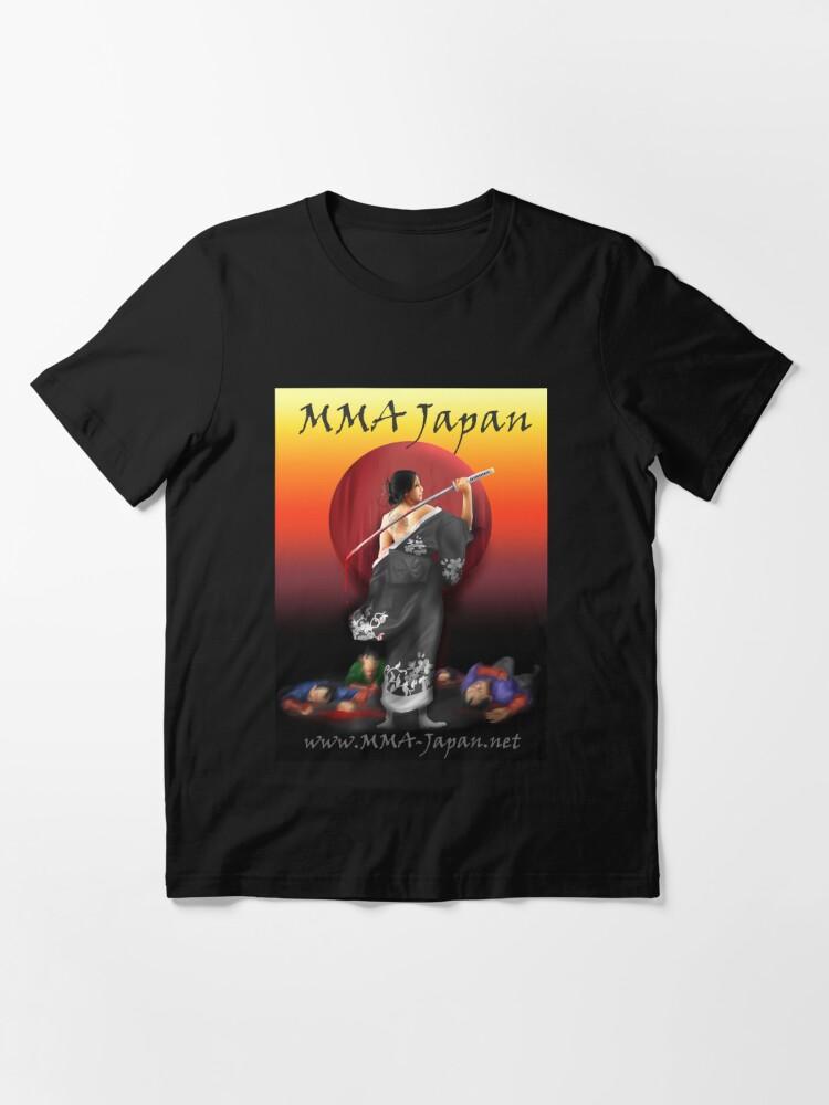 Alternate view of MMA JAPAN SAMURAI Spirit Essential T-Shirt