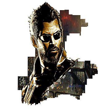 Deus Ex City by subzeromk