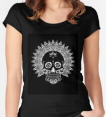 Skulling - Version Negra Women's Fitted Scoop T-Shirt