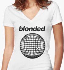 Frank Ocean - Blonded Women's Fitted V-Neck T-Shirt