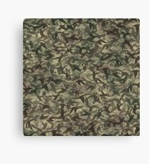 Duck hunt camouflage Canvas Print