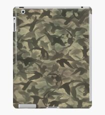 Duck hunt camouflage iPad Case/Skin