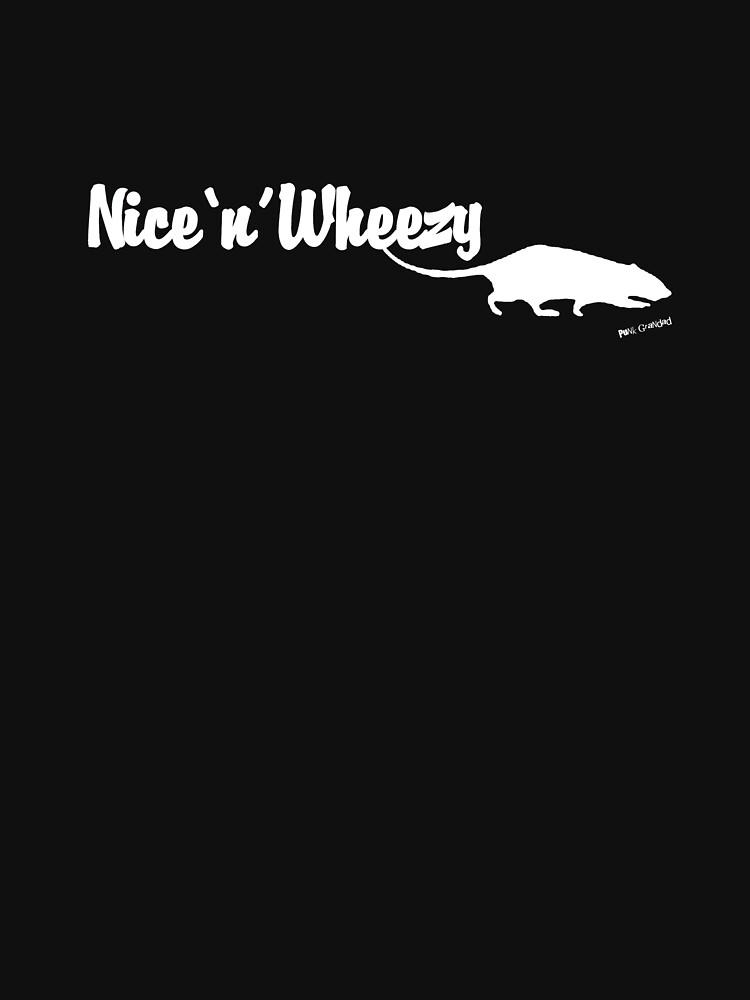 Nice 'n' Wheezy White Font by PunkGrandad