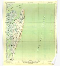 USGS TOPO Map Georgia GA Cumberland Island 247408 1930 62500 Poster
