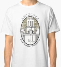 San Xavier Mission East Tower Classic T-Shirt
