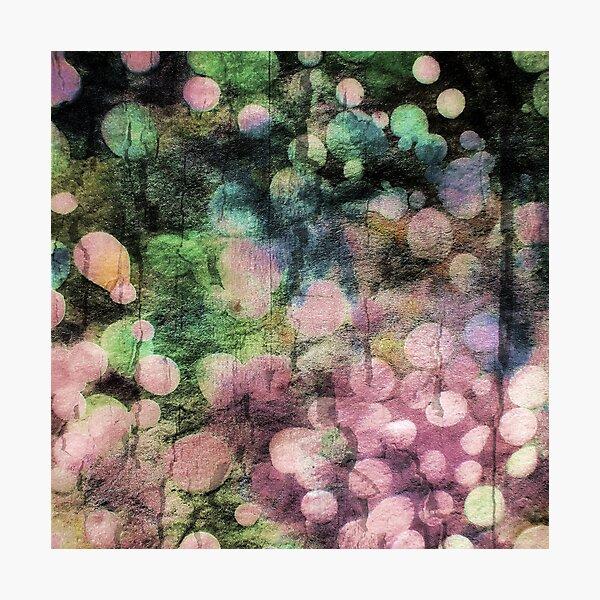 Abstract Batik Bubble Print Photographic Print