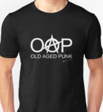 OAP - Old Aged Punk White Font Unisex T-Shirt