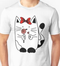 Kitten WITH CANDY Unisex T-Shirt