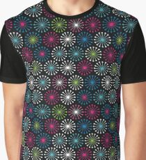 Geometric shapes of lines rays  Graphic T-Shirt