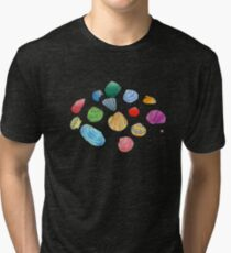 Night Shells Tri-blend T-Shirt
