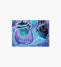 Magic Tale Blacklight Forest Background Art Board