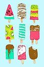 Ice Cream Time by Evgenia Chuvardina