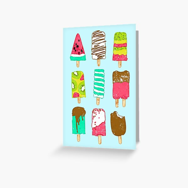 Ice Cream Time Greeting Card