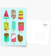 Ice Cream Time Postcards