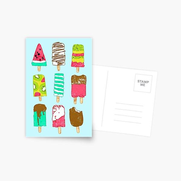 Ice Cream Time Postcard