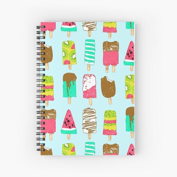 Ice Cream Time Spiral Notebook