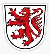 Braunschweig coat of arms Sticker